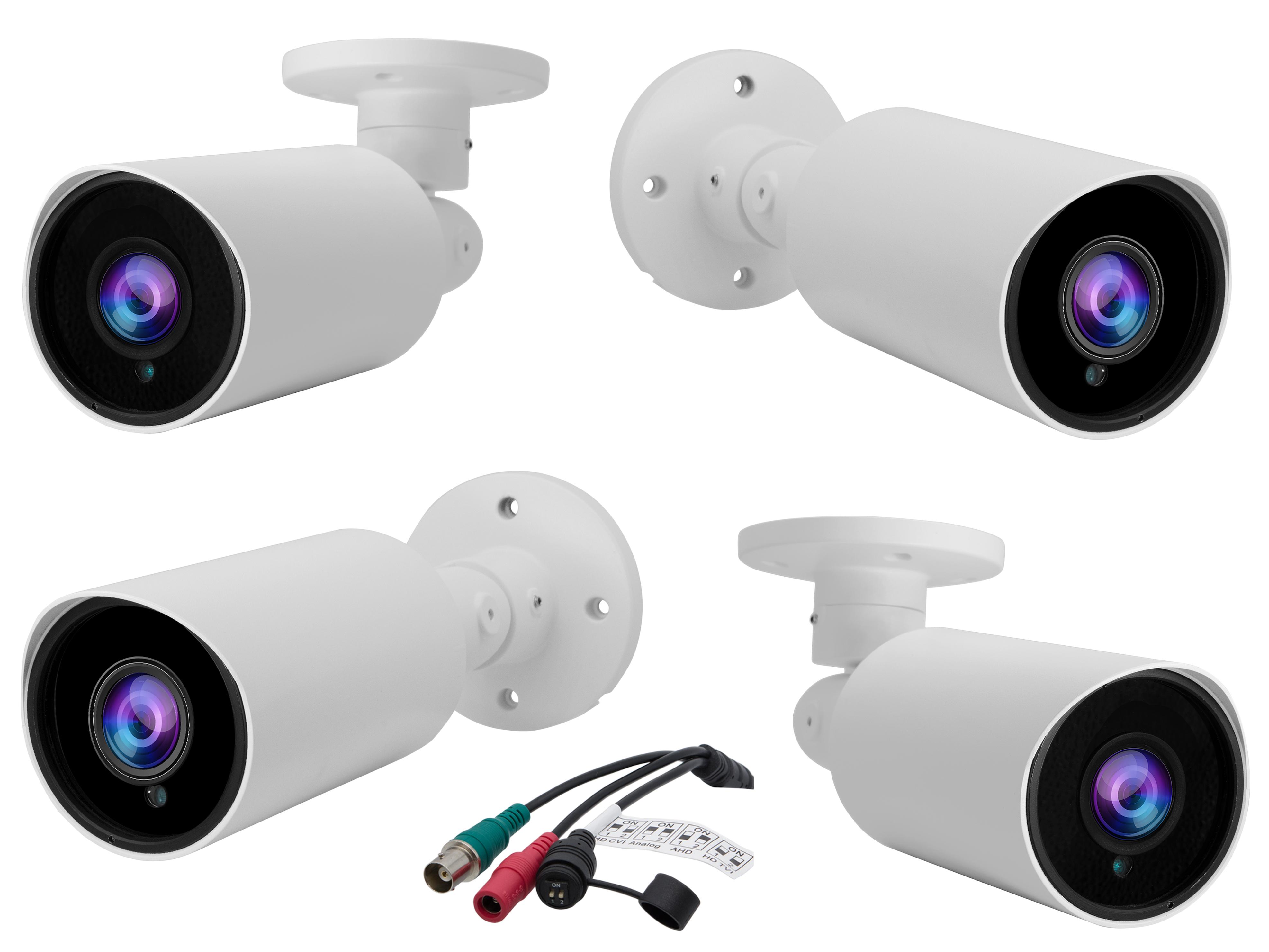 4pcs Camera Set