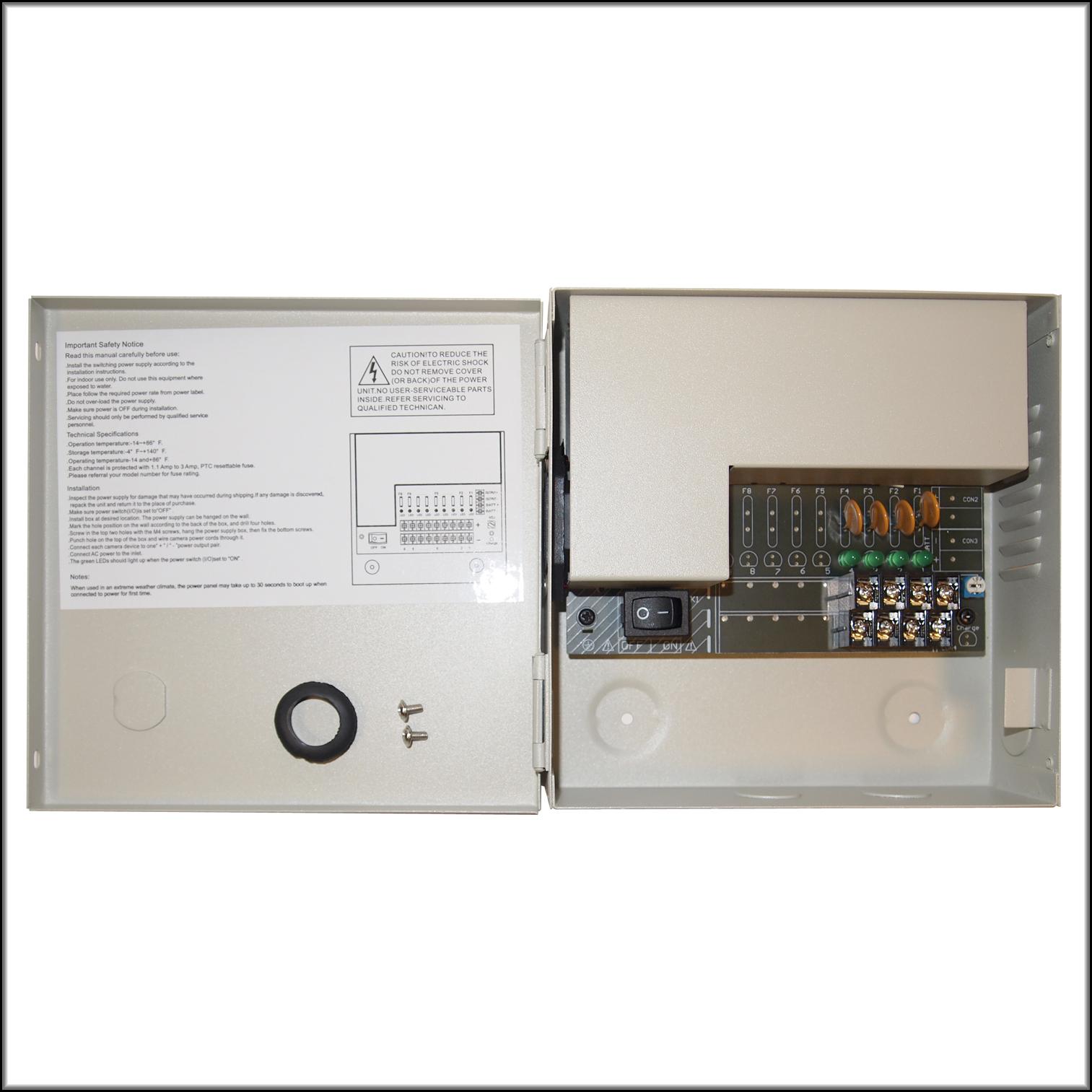 12V DC Metal Power Box