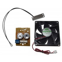 12V DC Heater & Blower/Cooler Fan Kit Spare parts for CCTV Housing (no Housing, Bracket included)