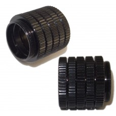 10xM-C02A - 5mm Camera C Mount Lens Adapter Ring Extension Tube: C Ring for Security Box Cameras