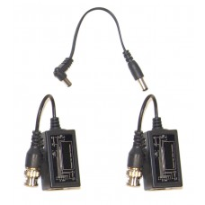 CCTV equipment 1-Way Twisted Pair Passive Video Converter (Unfixed/Fixed BNC)