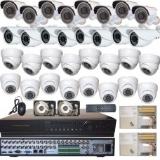 1. 32 Ch Channel Home Office Security Surveillance System Full D1 DVR 32 HD Cameras
