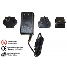 EV-ADP1202A-1 2 Amper DC 12 Volt Power Adapter with International Travel Kit
