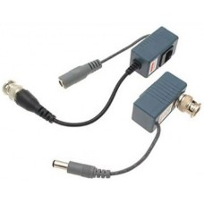 EV-BL910-P 1 PAIR(2 Pcs) Port Passive transceiver CCTV Video Balun compact size CAT5/CAT6