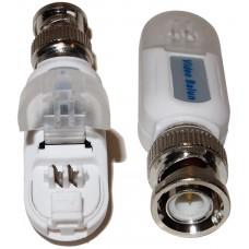 EV-BL920 1 PAIR(2 Pcs) Port Passive transceiver CCTV Video Balun compact size CAT5/CAT6