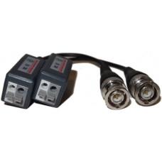 EV-BL935C 1 PAIR(2 Pcs) Port Passive transceiver CCTV Video Balun compact size CAT5/CAT6