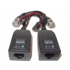 EV-BL960ACDC24 PVD Video Balun with Power, Video and Data CCTV via UTP & RJ45 Twisted Pairs