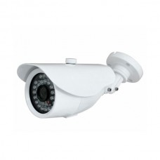 "EV-C256 V.7- White  1/3"" 700TVL SONY COLOR EFFIO CCD, Day & Night, Weather-Proof, 30 IR LED, 3.6mm Wide Angle Lens, CCTV Security CAMERA"