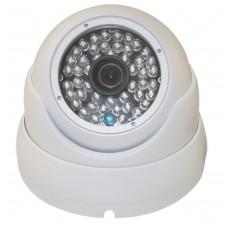 EV-CDM368FX V.8-W 800TVL 48 IR LED Metal Casing Day & Night, Indoor & Outdoor Security Dome Camera