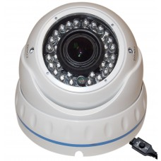 "EV-CDM372 V.10-W 1000TVL 1/3"" Sony 1.3Megapixel CMOS SENSOR Day & Night, Indoor & Outdoor Dome Camera with OSD Button"