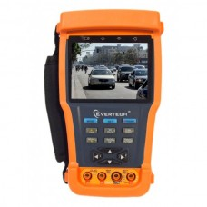 "EV-TESTER35M-AHD - CCTV Tester Pro 3.5"" LCD Monitor CCTV AHD & Analog Camera Video PTZ Test Tester with multimeter"