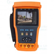 "EV-TESTER35DZMR Ten-in-One 3.5"" LCD Monitor CCTV Camera PTZ Test Tester + Multimeter + Video Recorder"