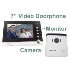 "EV-VDP076BZ/EV-VDC022 7"" TFT color LCD Video Doorphone Camera"