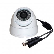 "AHD EV-CDM168AHD 1MP-OSD  720P 1/4"" 1MP CMOS SENSOR IR AHD Dome Camera with OSD"