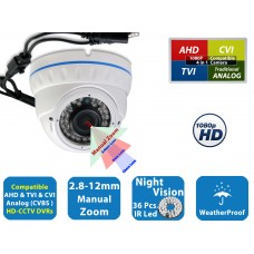EVCDM372HS2101 V.2S   -  MP 2.1 HD CCTV 1080P AHD TVI CVI Night Vision Indoor Outdoor CCTV Security Camera
