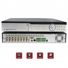 EV-DVR16AHD-1080P 16 Channel 1080P AHD Realtime H.264 high Profile standalone DVR Recording