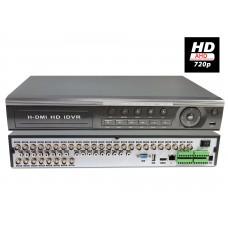 EV-DVR 32 CH 720P AHD Motion Detection Cloud Option HDMI H.264 Video Recording DVR CCTV