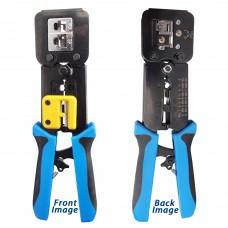 Professional Network Ethernet LAN Phone Crimper Crimp Tool Cat5e Cat6 RJ45 RJ11