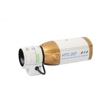 "HTC-207 1/3"" Color CCD Camera With Audio 420 TV Lines CCTV Box Security Camera - without Lens & Power"