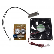 12V DC Heater & Blower/Cooler Fan Kit Spare parts for CCTV Housing