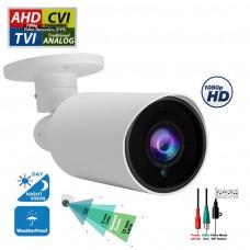 Evertech 1080P HD TVI AHD CVI Day Night Vision Indoor Outdoor CCTV Bullet Security Camera