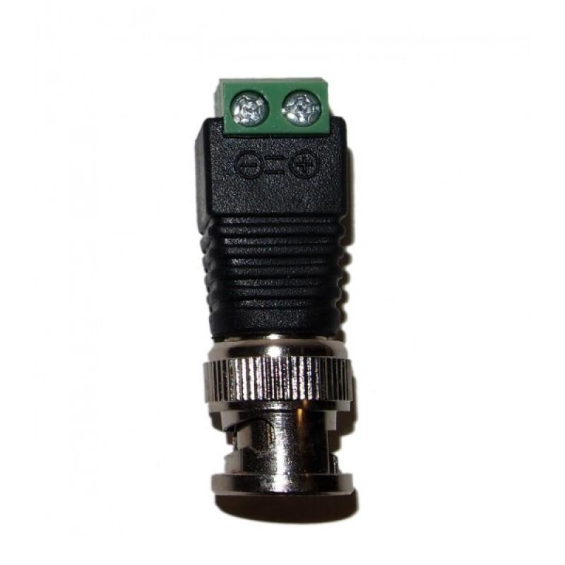 Ev Bnc59scrw 10pcs Cat5 Cat6 To Bnc Coaxial Connector