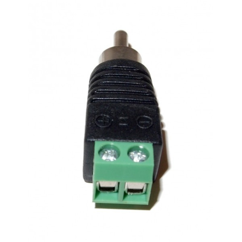 Ev Rcam2sw Utp Cat5 Cat6 Cable To Av Rca Male Screw