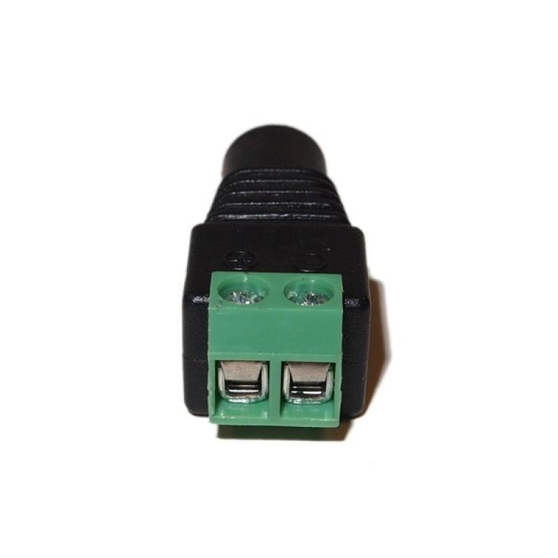 Ev Dj01fscr Female Dc Power Plug Jack Adapter Cctv Power