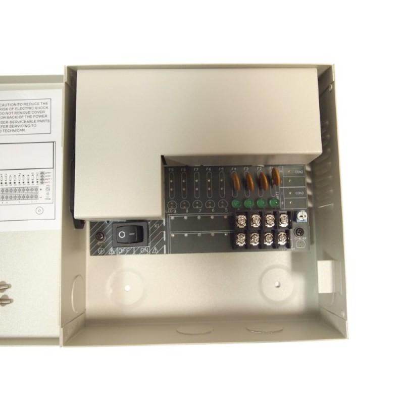 EV-PB04-03PSL 4Ch Camera 3Amp CCTV DVR 12V DC Power Supply