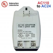 EV-AC2440 24V AC 1660mA Transformer CCTV Security Camera DVR Power Supply Adapter