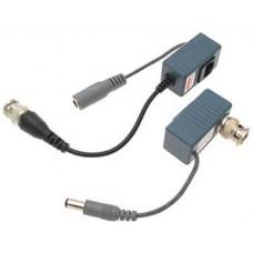 EV-BL910-P 1 PAIR(2 Pcs) Port Passive transceiver CCTV Video Balun compact size CAT5/CAT6