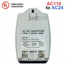 EV-AC2440 24V AC 1660mA Transformer CCTV Security Camera DVR Power Supply Adapter